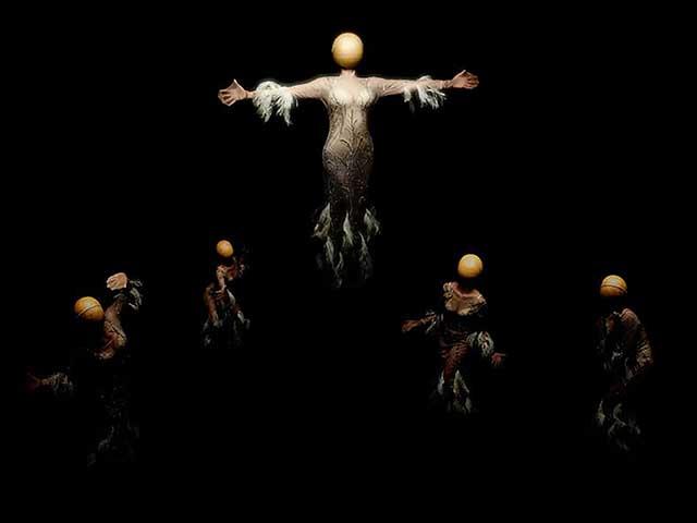 Los Cuerpos Bellos (investigación escénica sobre el monstruo y el cuerpo no hegemónico), por Mad Lab 2020