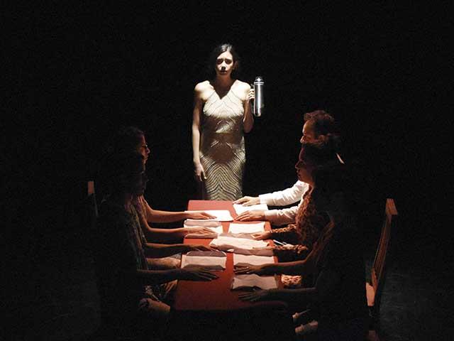 La deriva, por Trilobite Teatro